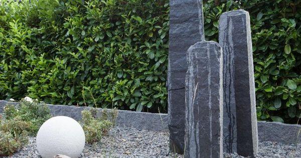 gartengestaltungsideen steingarten anlegen mit passender. Black Bedroom Furniture Sets. Home Design Ideas