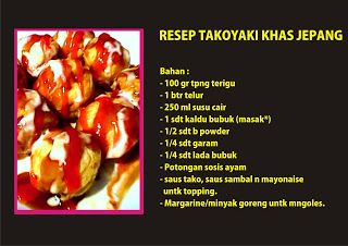 Resep Takoyaki Khas Jepang Ala Ommasakom Blog Resep Kuliner Enak Pageone Resep Takoyaki Resep Makanan