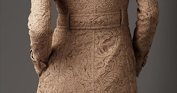 Burberry- lace trench coat in love!!! I love jackets!