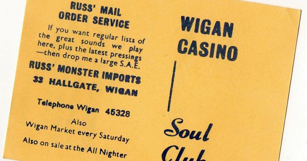 wigan casino years book