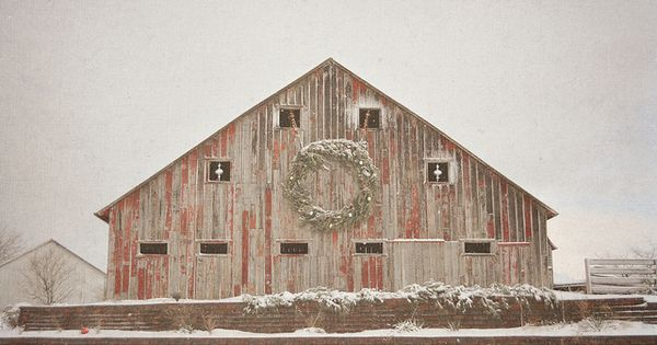 Old Barn, I wish they could stand strong forever!