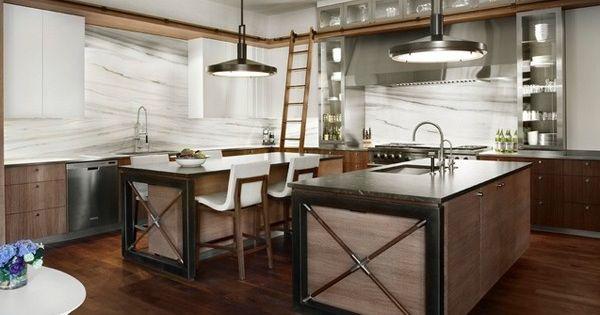Design Urbain Chic Et De Cuisine Industrielle Cuisine Vintage Industrielle Pinterest Cuisine