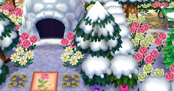 Rosedale S Snowy Campsite Brrrr Animal Crossing Game