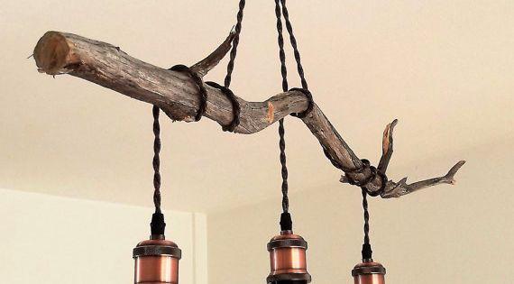 suspended wood light luminaire suspendu par mysteryoftomorrow lampadaire pinterest. Black Bedroom Furniture Sets. Home Design Ideas