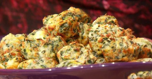 Mini Muffin Spinach & Artichoke Bites Recipe