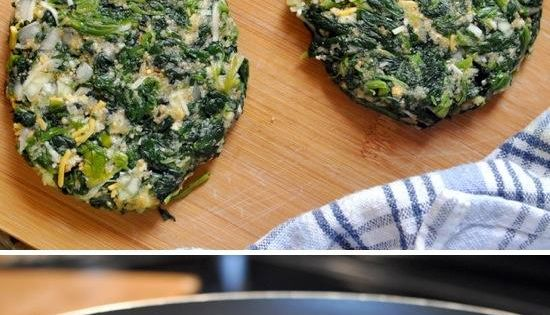 "spinach ""burgers"". These are high in protein, low in carbs and absolutely"