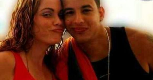 Daddy Yankee With His Wife