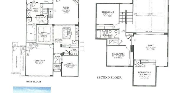 DR Horton Thomason Floor Plan Via NMHomeTeam.com