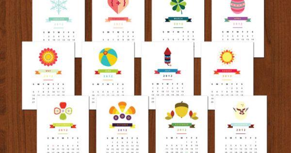 Calendar Notebook Design : Design my own graphic calendar and print them out bind