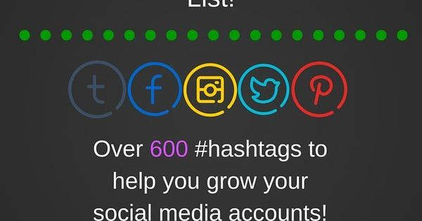 Ultimate Hashtag List - Everyone wants to maintain an amazing social media presence, but you need to develop an Ultimate Hashtag List! #hashtag**