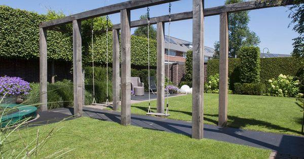 Marc de graaf tuinen is hovenier in de regio barneveld eigentijds en verrassend garten - Eigentijds pergola hout ...
