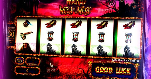 Wicked slot machine