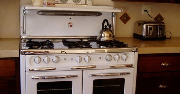 1950s Wedgewood 6 Burner Double Oven Restored Vintage
