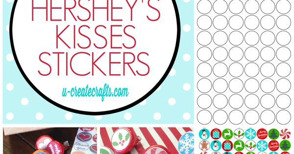 free hershey kisses labels template - how to make your own hershey 39 s kisses stickers by u create