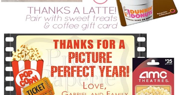 DIY Teacher Appreciation Treat Bags and other teacher gift ideas.
