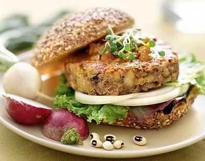 5 Delicious Homemade V... Garden Burger