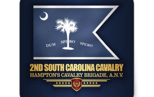 2nd South Carolina Cavalry Square Sticker Zazzle Com In 2020 War Flag Civil War Flags Cavalry