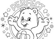 Warm Winter Wishes Bear Coloring Pages Coloring Pages Care Bears