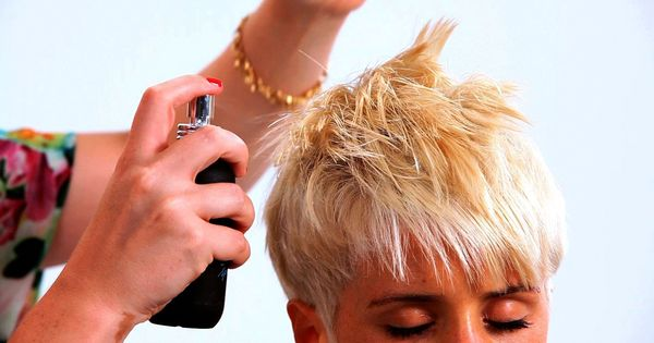 Styling A Pixie Haircut With Long Bangs