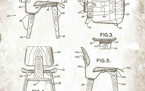 Ray and Charles Eames chair design