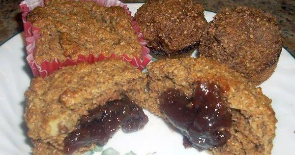 Jam Filled Oat Bran Muffins | Recipe | Oat Bran Muffins, Bran Muffins ...