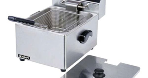 Winco Efs 16 Countertop Electric Fryer 1 16 Lb Vat 120v