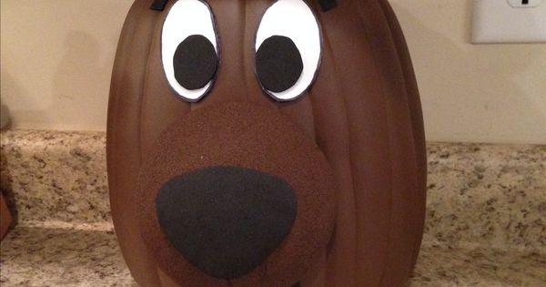 Scooby Doo Painted Pumpkin Project Halloween Crafts