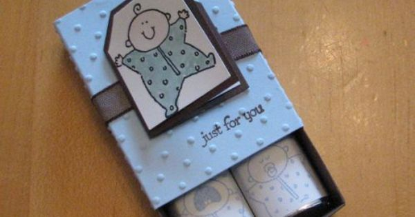 Baby Shower Favor Boxes Pinterest : Baby shower favor box with chocolatees paper crafts