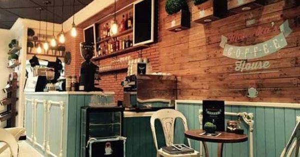 Decoracion vintage mobiliario cafeter a mesa coffee - Mobiliario vintage industrial ...