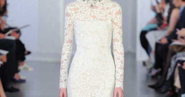 50 robes de mariée en dentelle repérées à la Bridal Week  Robes