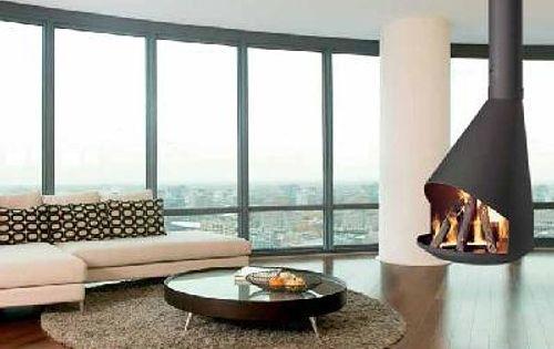 Calefaccion refrigeracion chimeneas modernas para casas - Adaptar chimenea para calefaccion ...