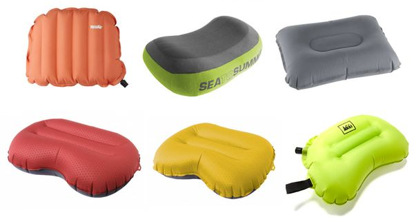 ultralight inflatable pillow gear guide. I've tried many of these and my