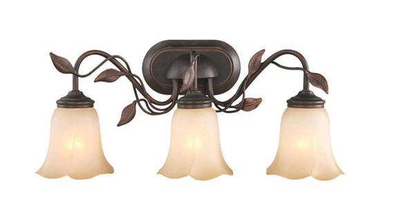 Vanity Light!! LOWES--Shop Allen + Roth 3-Light Eastview