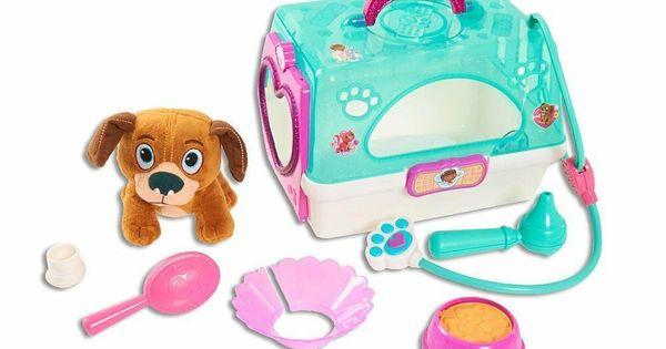 Disney Jr Doc Mcstuffins Toy Hospital On The Go Pet Carrier Findo New Doc Mcstuffins Toys Doc Mcstuffins Pet Vet Doc Mcstuffins