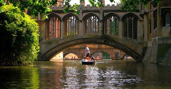 Bridge in Cambridge, England