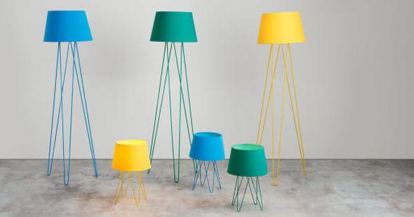 Collins Staande Lamp Okergeel Yellow Floor Lamps Living Room Turquoise Floor Lamp