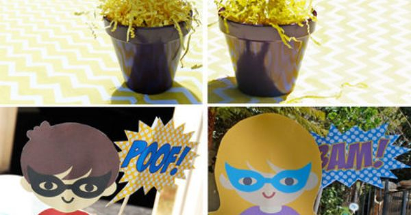 Super Heroes Birthday Party Ideas Hero