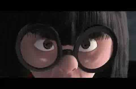 The Incredibles: No capes! Edna Mode - She's my favorite character, I