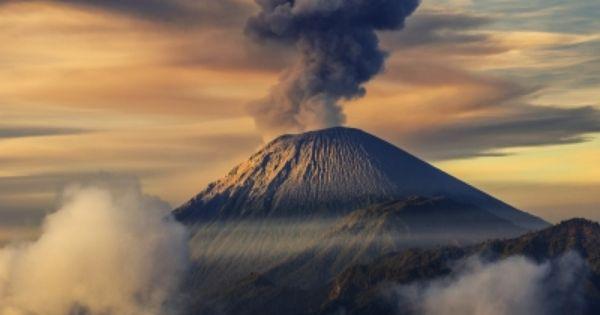 Mount Semeru Indonesia Indonesia Gunung Berapi