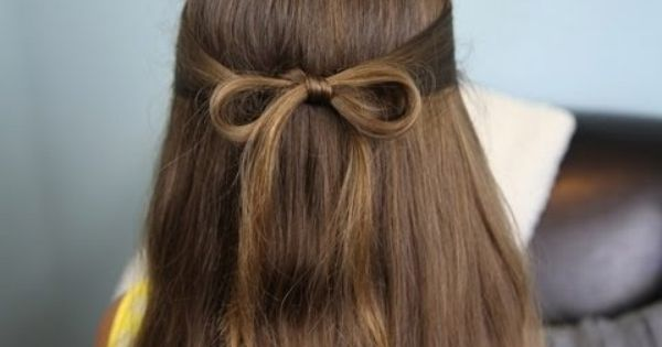 The Subtle Bow | Easy Hairstyles. So many cute hair styles love