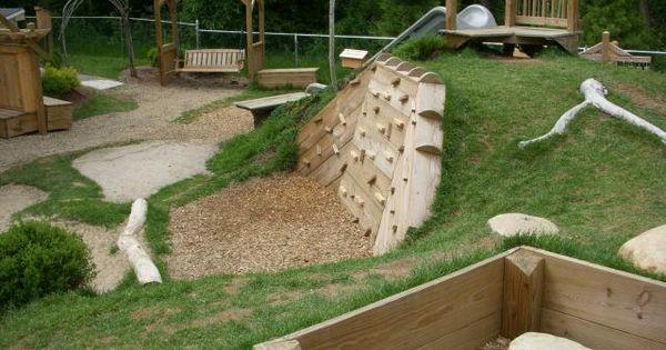 Abenteuerspielplatz ideen f r kinder als coole for Gartengestaltung wall