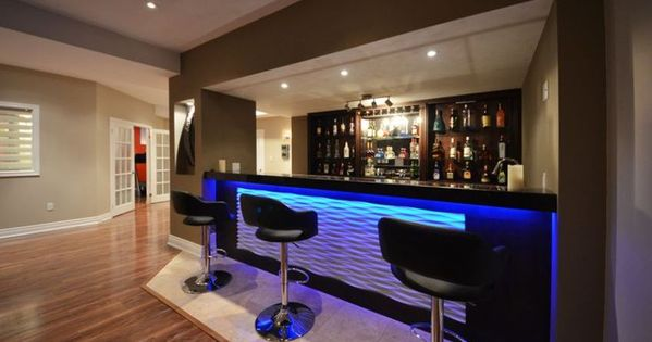 Man Cave Bar Australia : Bar and kitchen in the basement design ideas finished
