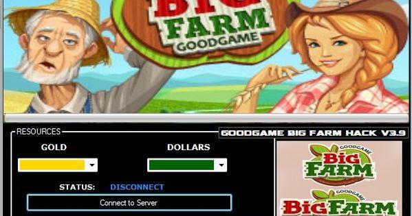 Big Farm Cheats Hack Tool ( Unlimited Gold and Dollars