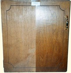 Kitchen Cabinet And Furniture Water Damage Nicks Scratches And Missing Finish Stained Kitchen Cabinets Wood Paneling Makeover Wood Repair