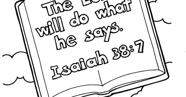 God is faithful coloring page