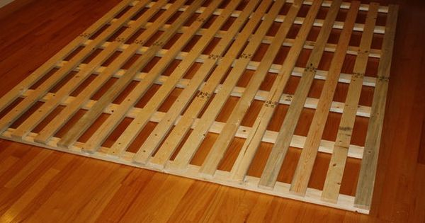 How To Make A Cheap Low Profile Wooden Bed Frame Wooden Bed