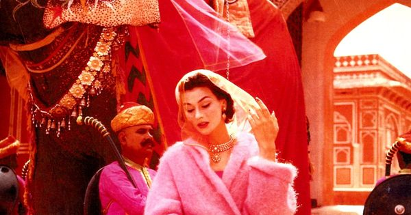 Hot pink is the navy blue of India - D. Vreeland {arts