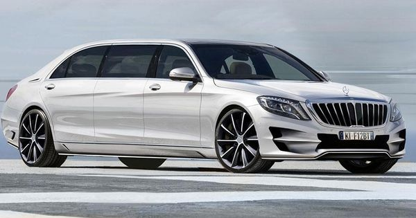 Ares Atelier Xxl Is The Ultimate Mercedes Benz S Class Limousine