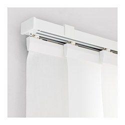 Vidga Panel Curtain Holder White 23 Ikea In 2020 Vertical