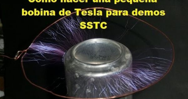 Como Armar Una Bobina De Tesla Demostrativa Bobina De Tesla Bobina De Tesla Casera Tesla
